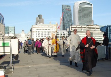 Blessing of the River Thames